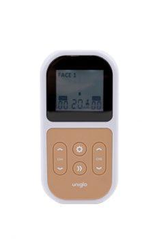 Uniglo Anti-Aging TENS-laite edestä kuvattuna.
